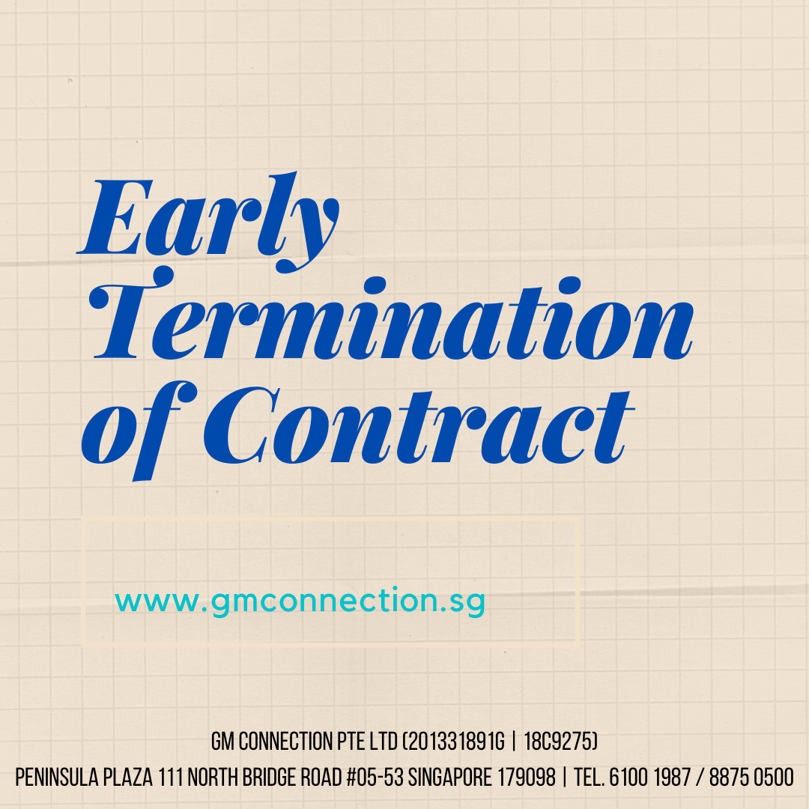 Early Termination of Contract