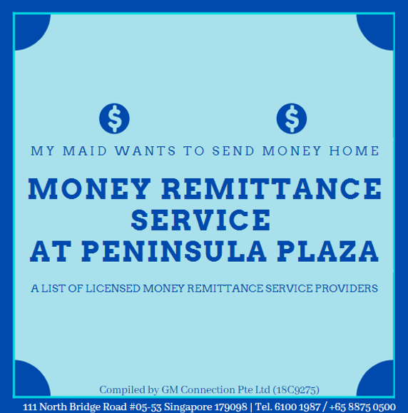 Money Remittance at Peninsula Plaza