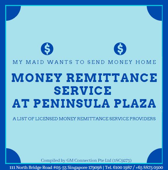 Money Remittance at Peninsula Plaza