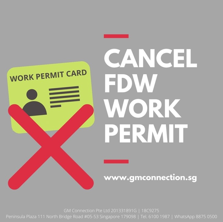 Cancel Maid Work Permit